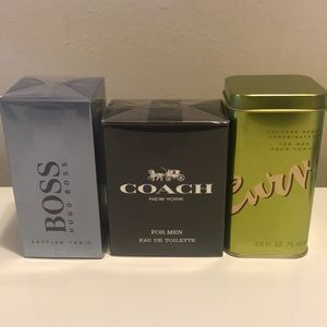 Curve for Men, Hugo Boss Bottled Tournoux, Coach